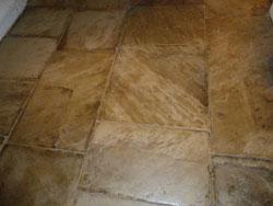 yorkstone floor restoration