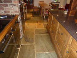 flagstone flooring restoration