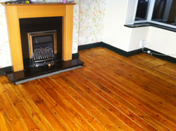 pine wood floor restoration leeds