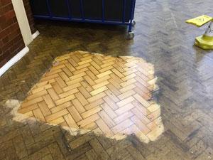 Dust free floor sanding Leeds